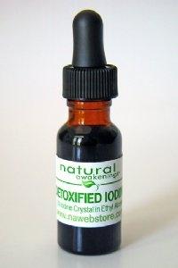 Natural Awakenings Detoxified Iodine - 1/2 oz, 4-6 Week Supply