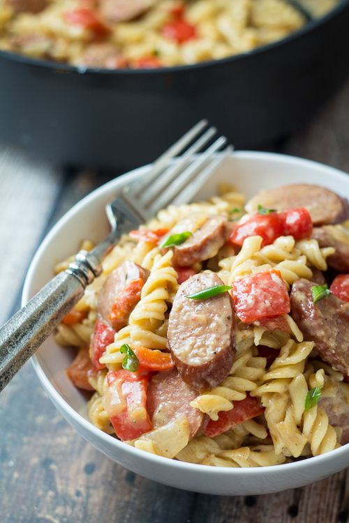 pasta sauce with italian sausage shell pasta with sausage and greens ...
