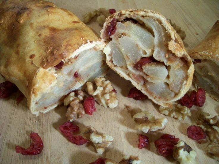 and Cranberry Strude I made using my Oma's traditional apple strudel ...