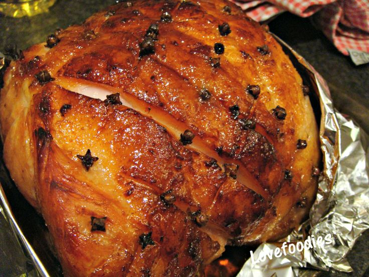 Honey Glazed Ham | CHRISTMAS Time | Pinterest