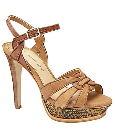 Gianni Bini Alana Platform Sandals   Dillards.com