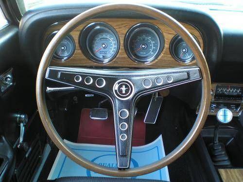 1969 Mustang Mach I Fastback Interior Mechanic Tech Armor Weapo