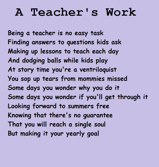 why i want to teach So my sophomore year of college when my education professor asked me where i wanted to teach someday, some might wonder why in.