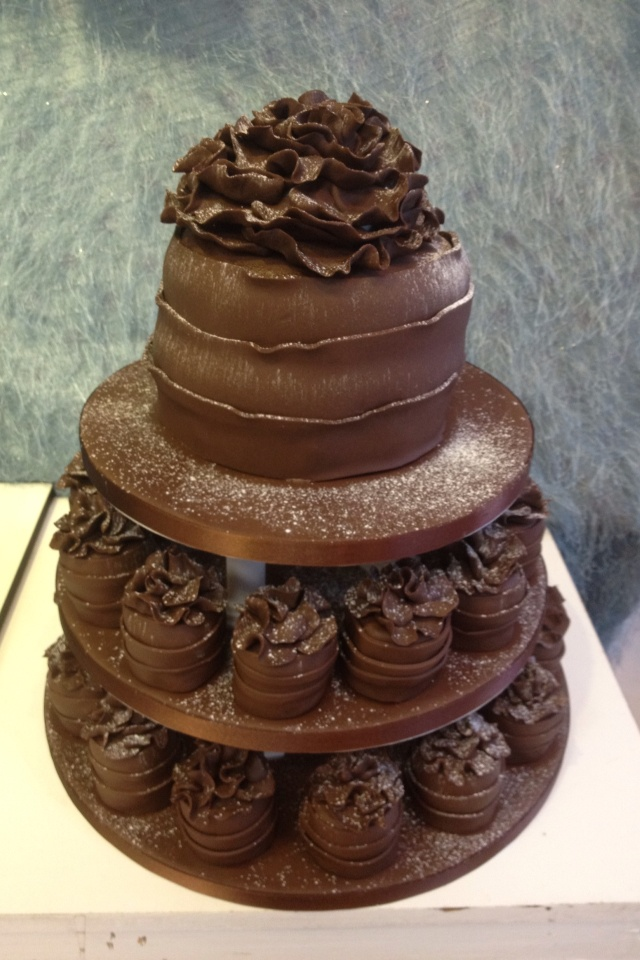 Ruffle Tower Cake Recipes — Dishmaps