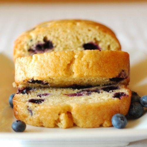 blueberry orange bread. Yummy!! I think next time I'll nix the honey ...