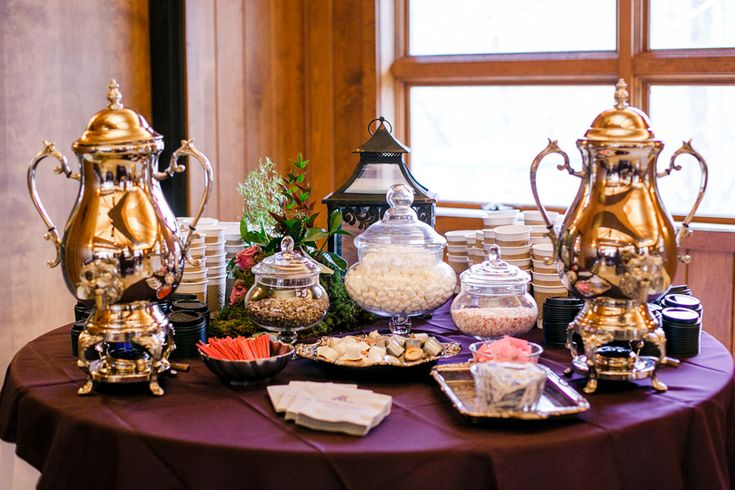 Hot chocolate and coffee bar wedding2 pinterest for Coffee bar at wedding reception
