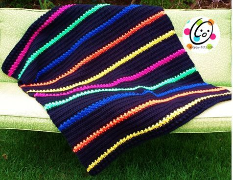 Free Crochet Patterns Lap Blankets : Lap Afghan Blanket ~ free pattern All Things Crocheted ...