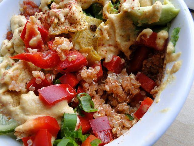 Loaded Quinoa Bowl Recipe — Dishmaps