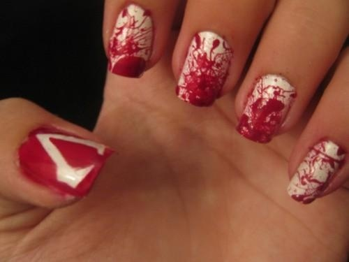 Assassins creed nails :)
