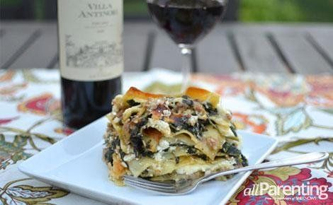 Turkey sausage and spinach lasagna | Entree | Pinterest