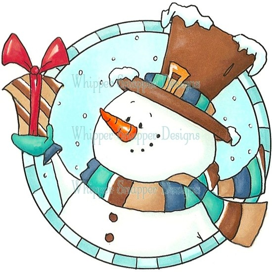 Snowman Circle | Christmas ideas | Pinterest