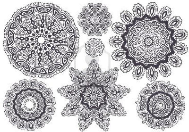 Lace Tattoo Patterns