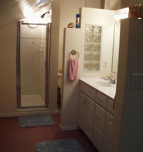 Pinterest for Sloped ceiling bathroom ideas