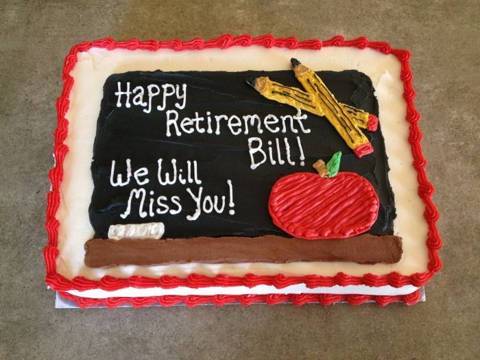 teacher retirement Pictures of Cakes Pinterest