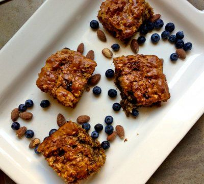 Peanut Butter and Jelly Protein Bars by Breakfast to Bed