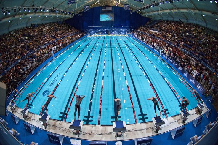 The Main Competition Pool Of The Iu Natatorium Is 50 Meters With Eight Racing Lanes Two