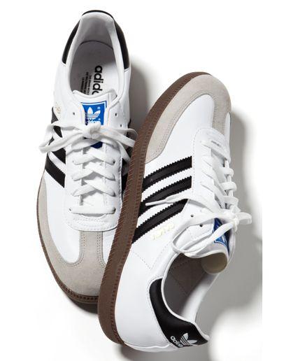 adidas sambas - white
