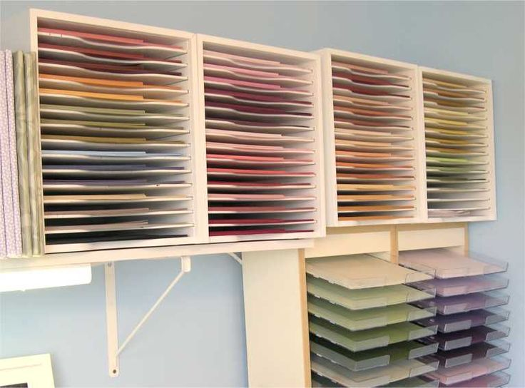12x12 paper storage bing images hobby space ideas - Scrapbooking storage ideas for small spaces plan ...
