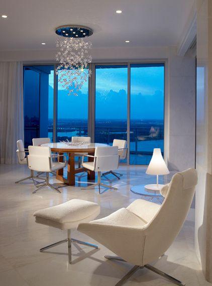 Contemporary diningroom by alene workman interior design inc