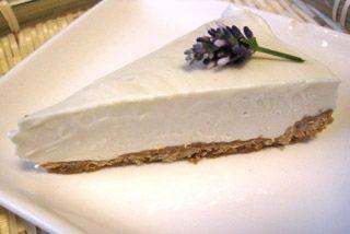 Lavender cheesecake | Dessert Tray | Pinterest