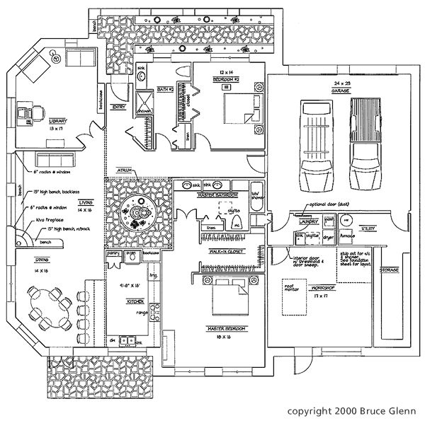 pueblo style house floor plans trend home design and decor