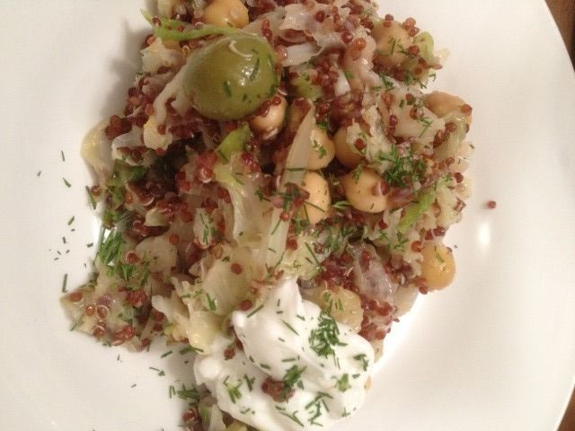 Recipe Monday ~ Toasted Quinoa Saute with Lemony Cabbage and Dill ...