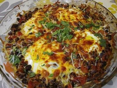Mexican Baked Eggs | Food Ideas? | Pinterest