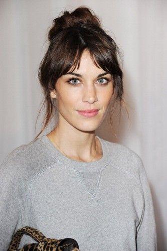 Alexa Chung grey sweatshirt