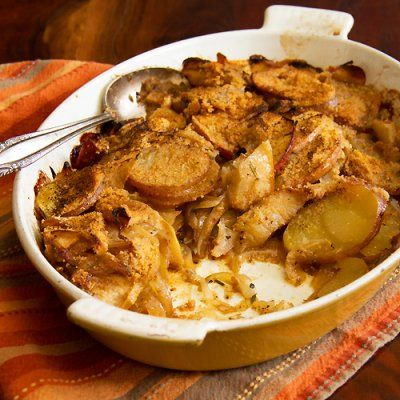 Potato, Apple and Onion Gratin | Food and Recipes | Pinterest
