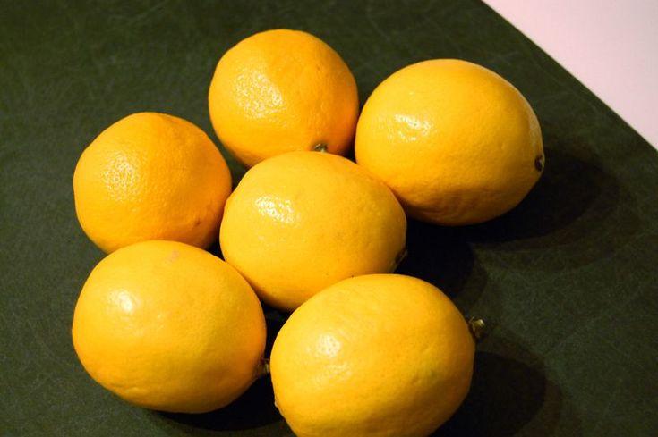 """How to preserve Meyer Lemons """"Lemon Confit"""" Sugar and salt then in ..."""