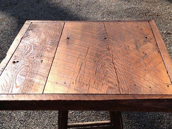 Wood farm tables custom made barn wood plank farm table tops wood