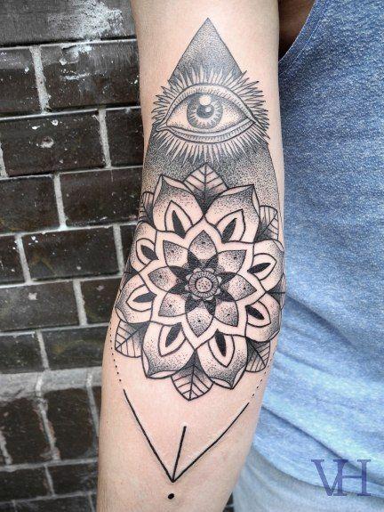 Татуировки кинжал