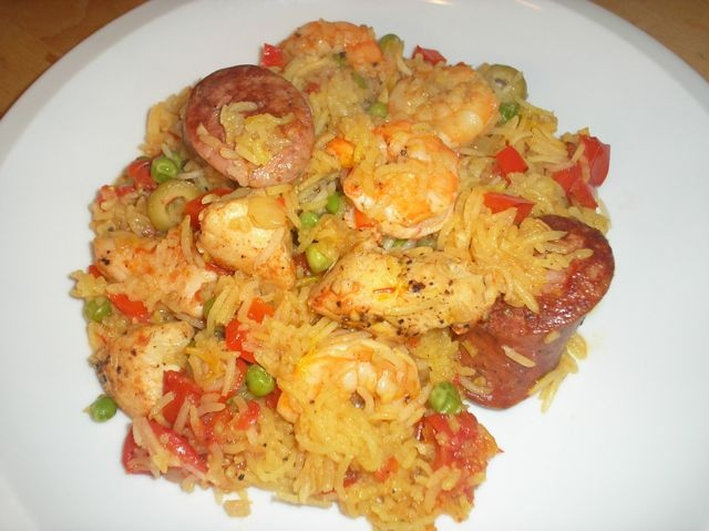 paella easy paella recipe myrecipes com quick and easy paella easy ...