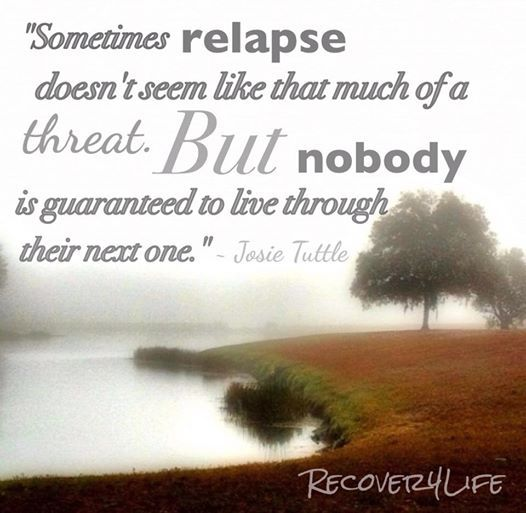 Relapse Prevention Quotes