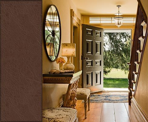 Country house foyer first impressions foyers pinterest for Country foyer ideas