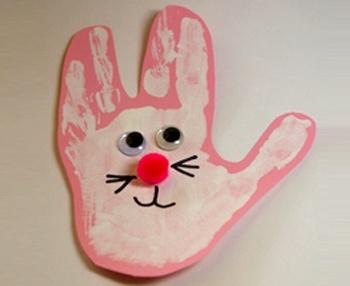 El baskısından tavşan