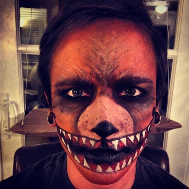Scary bear makeup. : Halloween Inspiration, DIY, Costumes, Decorations ...