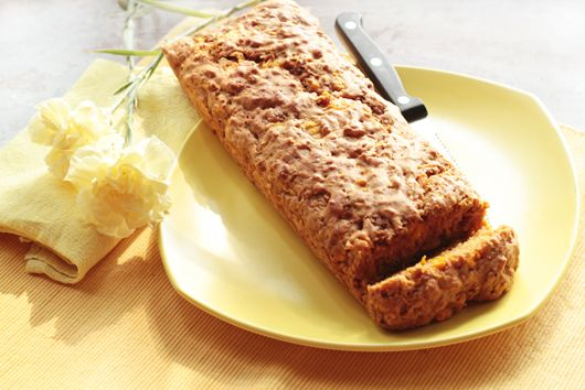twist on banana bread: mango loaf | eat | Pinterest