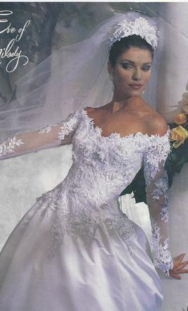 eve of milady $1,170 size: 8 | used wedding dresses