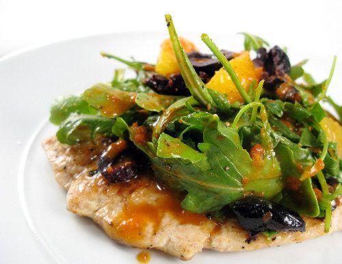 African style chicken salad w/ arugula   e a t .   Pinterest