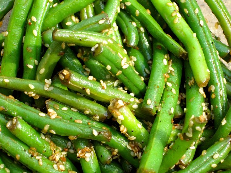 Sesame green beans | Recipes I've Actually Tried and Liked | Pinterest