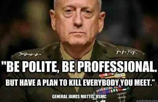 Gen. Mattis is The Man! | Budo | Pinterest