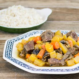 Beef, Bacon Rum Stew | Stew & Soup | Pinterest