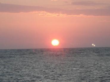 Sortida del sol un dia qualsevol de setembre a Eivissa