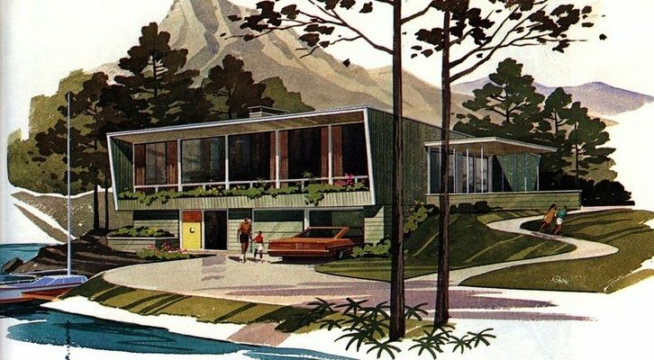 Mid Century Modern House Plans on Midcentury House Design