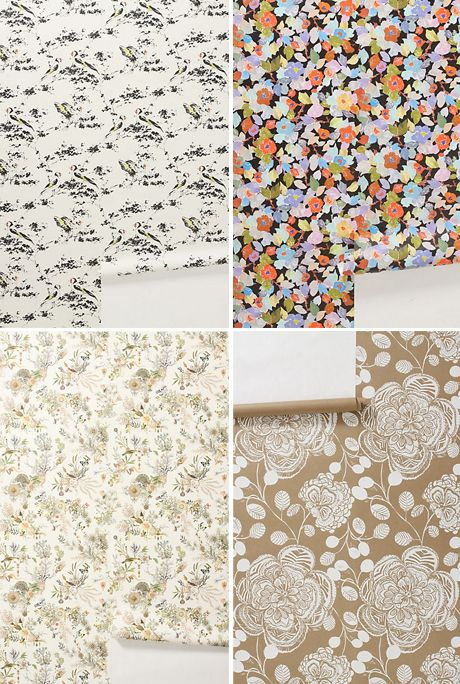 anthropologie wallpaper art and architecture pinterest