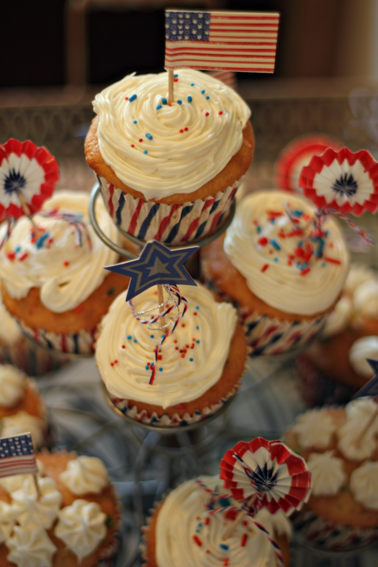 4th of july cupcakes food network