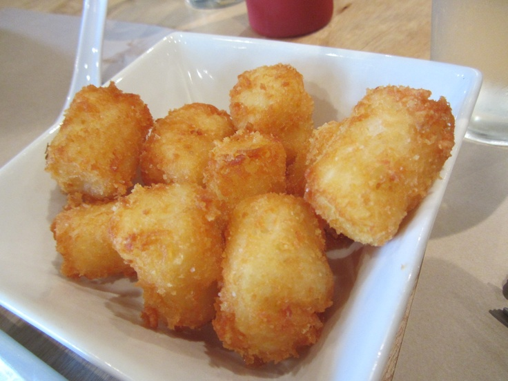 Umami Burger's 'secret' cheesy potato tots (not on menu) - delici...