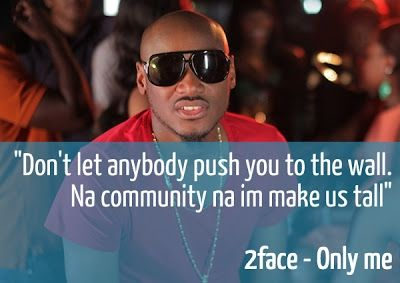 2face idibia launches 2face peace awards join the train by signing