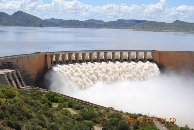 Gariep Dam South Africa  city photo : Gariep Dam Overflowing | South Africa | Pinterest